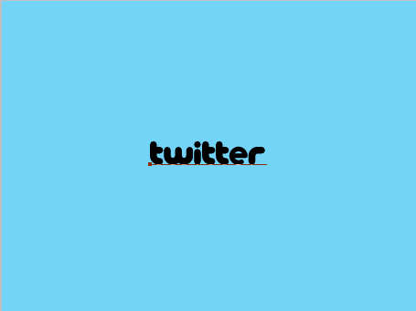 step-2-How to create twitter like text effect
