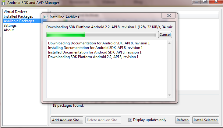 android installation step 3