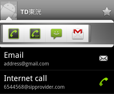 android 2.3 call management