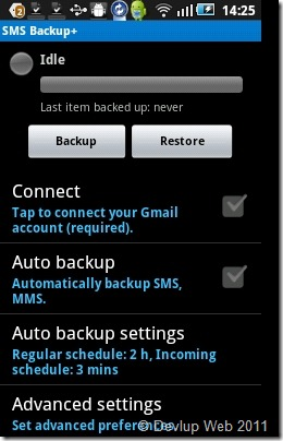 backup of all SMS_1