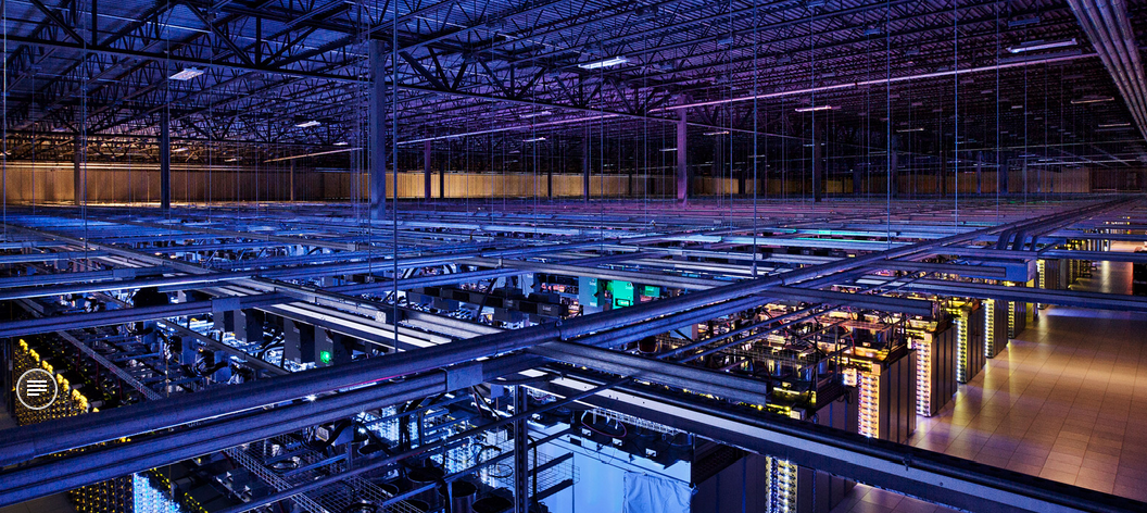 inside google datacenter