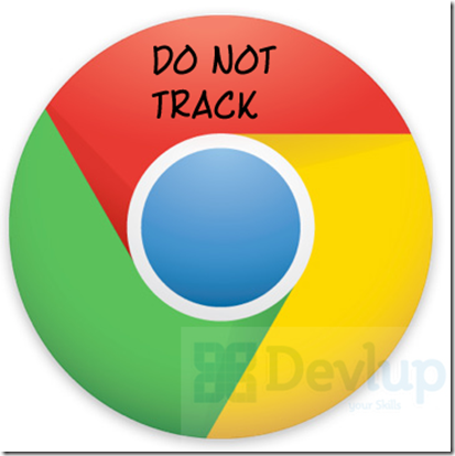 Google Chrome Do not Track